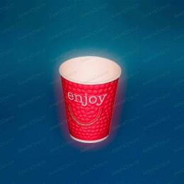 Стаканчики бумажные 2-слойные Enjoy 200мл