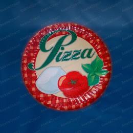 Тарелки бумажные для пиццы 300мм