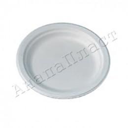Тарелки бумажные десертные белые 160мм