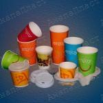 Бумажные стаканчики HUHTAMAKI