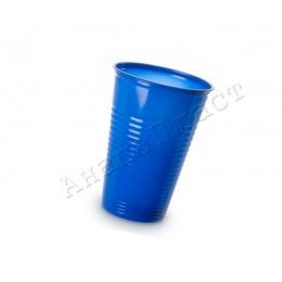 Стаканчики пластиковые синие 180мл